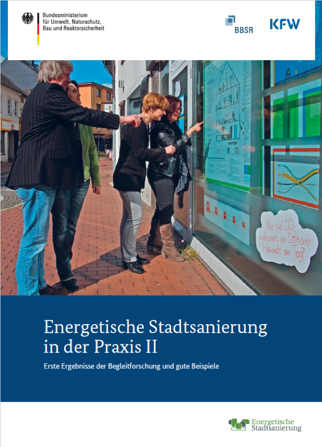 Cover-Bild der Puplikation Energetische Stadtsanierung 2