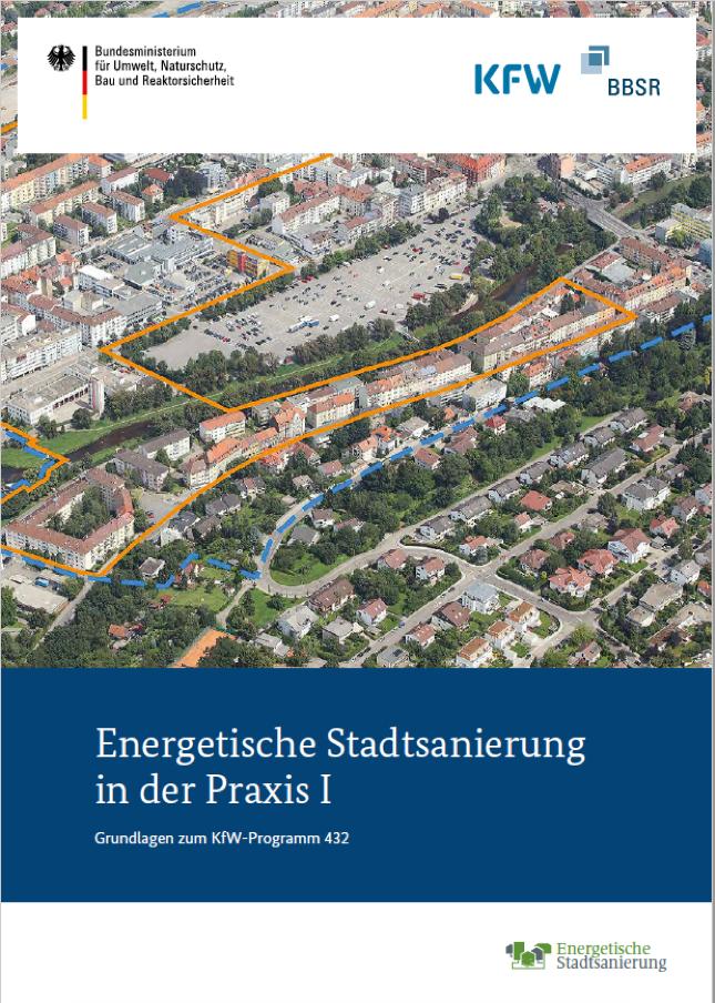 Cover-Bild der Puplikation Energetische Stadtsanierung 1