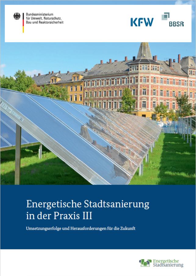 Cover-Bild der Puplikation Energetische Stadtsanierung 3